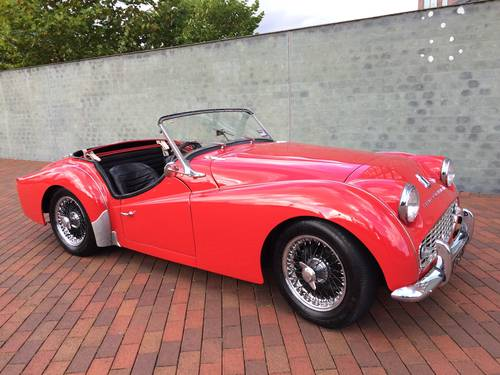 1959 Triumph Tr3a Rhdnumbers Matching Overdrive Sold Car And