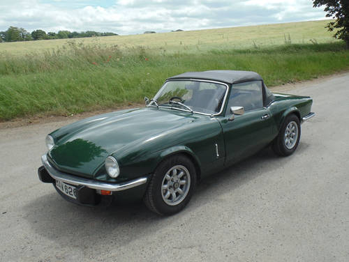 1979 Triumph Spitfire 1500 SOLD (picture 1 of 6)