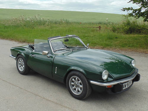 1979 Triumph Spitfire 1500 SOLD (picture 2 of 6)