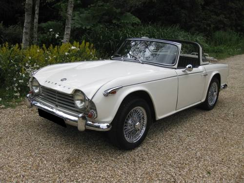 1967 TR4a IRS Surrey Top SOLD (picture 1 of 6)