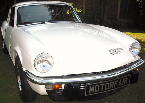 1982 TRIUMPH SPITFIRE 1500cc,4 OWNER,LOW MILES,OVERDRIVE,HARD TOP For Sale (picture 1 of 6)