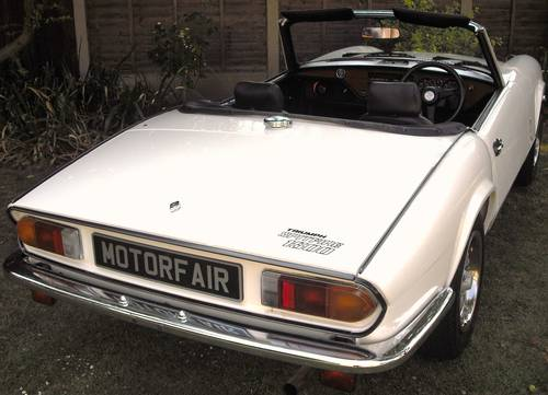 1982 TRIUMPH SPITFIRE 1500cc,4 OWNER,LOW MILES,OVERDRIVE,HARD TOP For Sale (picture 3 of 6)