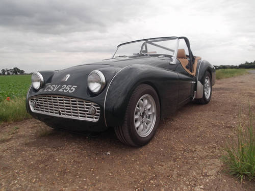 1959 GREEN TR3A FOR SALE SOLD | Car And Classic