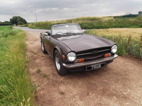 1972 TR6 GENUINE UK CAR WITH OVERDRIVE SOLD (picture 4 of 6)