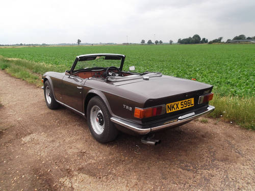 1972 TR6 GENUINE UK CAR WITH OVERDRIVE SOLD (picture 6 of 6)