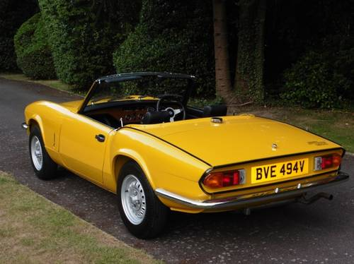 1980 Triumph Spitfire Only 3,032 Genuine Miles from New Unique For Sale (picture 1 of 6)