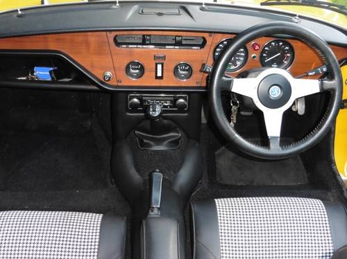 1980 Triumph Spitfire Only 3,032 Genuine Miles from New Unique For Sale (picture 6 of 6)