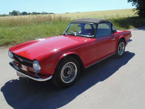 1970 Triumph TR6 SOLD (picture 1 of 6)