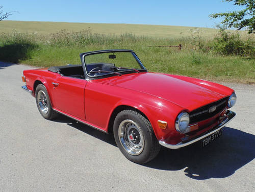 1970 Triumph TR6 SOLD (picture 2 of 6)