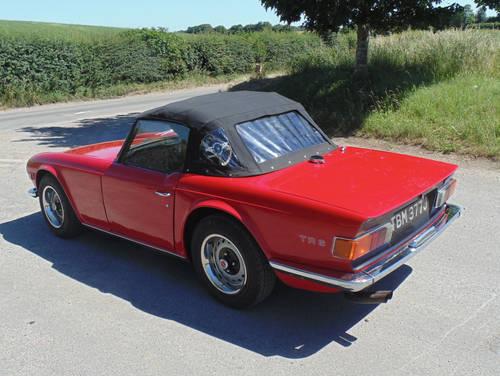 1970 Triumph TR6 SOLD (picture 3 of 6)