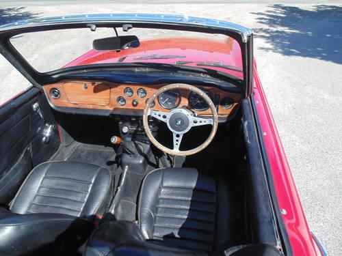 1970 Triumph TR6 SOLD (picture 4 of 6)