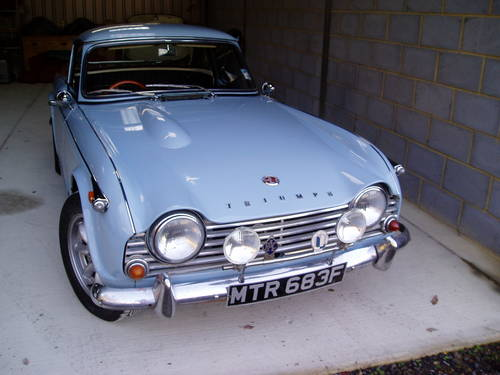 1968 Triumph Tr4 A Surrey Hard Top For Sale Car And Classic