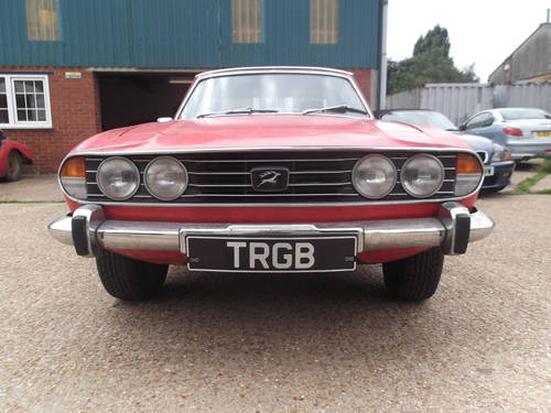 1976 TRIUMPH STAG PROJECT FOR SALE SOLD (picture 5 of 6)