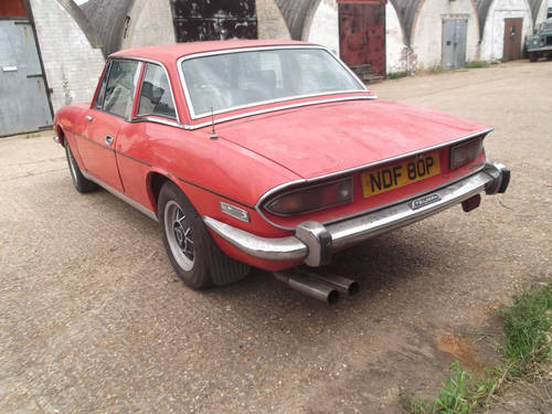 1976 TRIUMPH STAG PROJECT FOR SALE SOLD (picture 6 of 6)