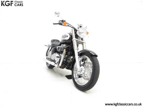 2002 A Truly Pristine Triumph Bonneville America with One Owner SOLD (picture 1 of 6)