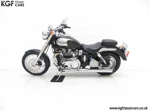2002 A Truly Pristine Triumph Bonneville America with One Owner SOLD (picture 3 of 6)