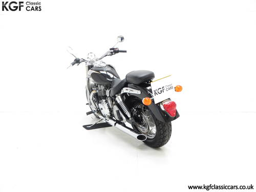 2002 A Truly Pristine Triumph Bonneville America with One Owner SOLD (picture 4 of 6)