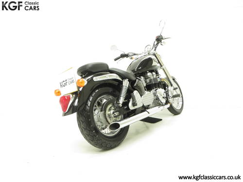 2002 A Truly Pristine Triumph Bonneville America with One Owner SOLD (picture 5 of 6)