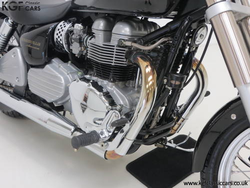 2002 A Truly Pristine Triumph Bonneville America with One Owner SOLD (picture 6 of 6)