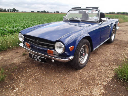 TR6 1972 150BHP WITH OVERDRIVE. SOLD (picture 1 of 6)