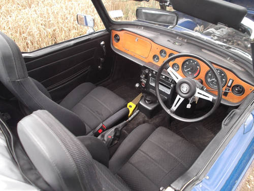 TR6 1972 150BHP WITH OVERDRIVE. SOLD (picture 2 of 6)
