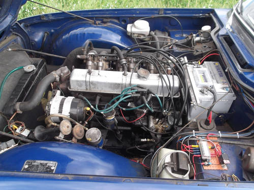 TR6 1972 150BHP WITH OVERDRIVE. SOLD (picture 3 of 6)