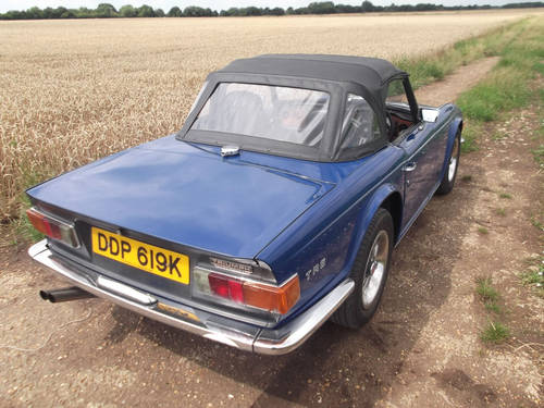 TR6 1972 150BHP WITH OVERDRIVE. SOLD (picture 4 of 6)