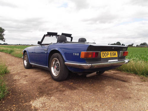TR6 1972 150BHP WITH OVERDRIVE. SOLD (picture 6 of 6)