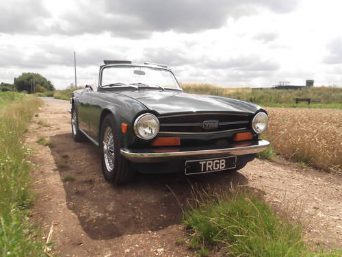 1973 TR6 WITH OVERDRIVE SOLD (picture 1 of 6)
