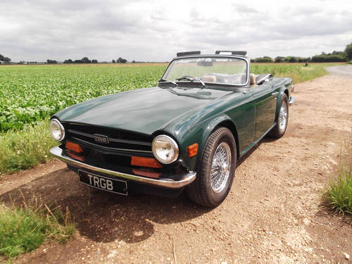 1973 TR6 WITH OVERDRIVE SOLD (picture 5 of 6)