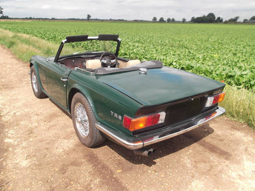 1973 TR6 WITH OVERDRIVE SOLD (picture 6 of 6)