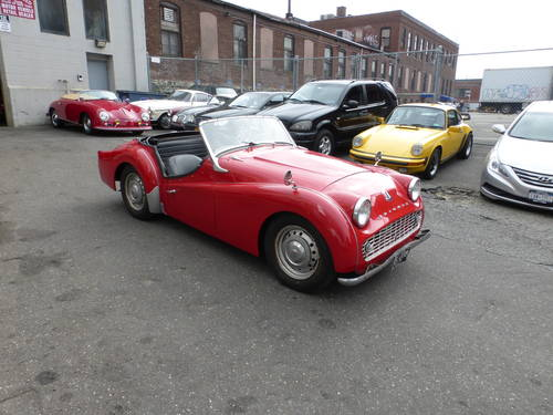 1960 Triumph TR3A Nice Driver - SOLD (picture 1 of 6)