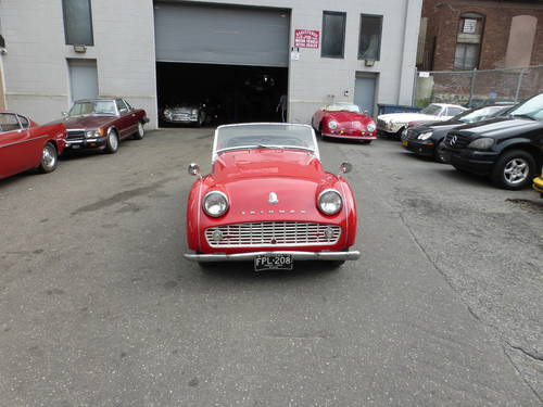 1960 Triumph TR3A Nice Driver - SOLD (picture 2 of 6)