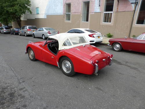 1960 Triumph TR3A Nice Driver - SOLD (picture 4 of 6)