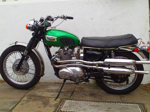 1971 TRIUMPH TROPHY T100 C For Sale (picture 1 of 6)