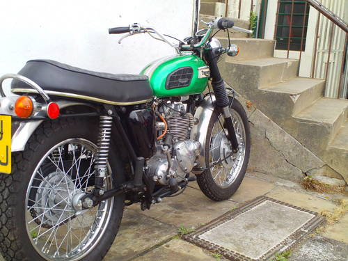 1971 TRIUMPH TROPHY T100 C For Sale (picture 4 of 6)