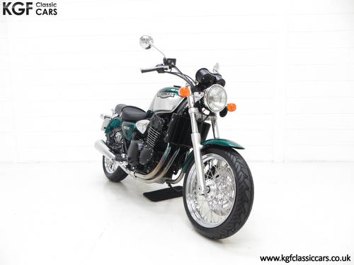 2002 An Outstanding Triumph Legend TT, One Owner and 1,436 Miles SOLD (picture 1 of 6)