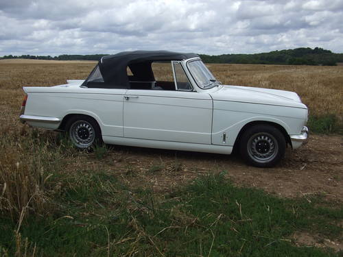1968 VITESSE MK1 2L CONVERTIBLE GREAT CAR WITH OVERDRIVE SOLD (picture 1 of 6)