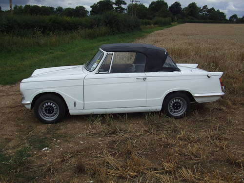 1968 VITESSE MK1 2L CONVERTIBLE GREAT CAR WITH OVERDRIVE SOLD (picture 3 of 6)