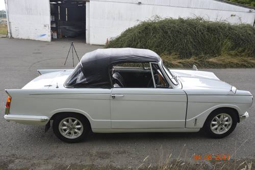 1971 Triumph Herald convertible  SOLD (picture 4 of 6)