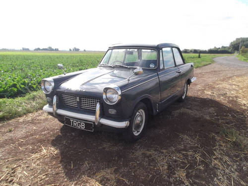 1964 HERALD 1200 SALOON SOLD (picture 2 of 6)
