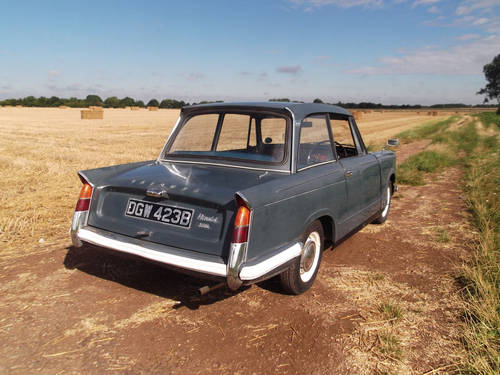 1964 HERALD 1200 SALOON SOLD (picture 4 of 6)
