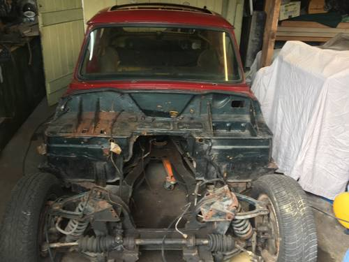 TRIUMPH GT6 MK3 RESTORATION PROJECT DRY STORED SOLD (picture 1 of 6)