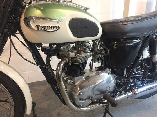 1967 Triumph Trophy 650cc SOLD (picture 4 of 6)
