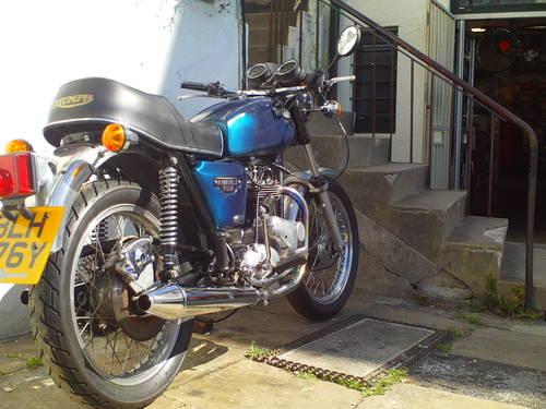 1982 TRIUMPH BONNEVILLE T140 ES SOLD (picture 2 of 6)