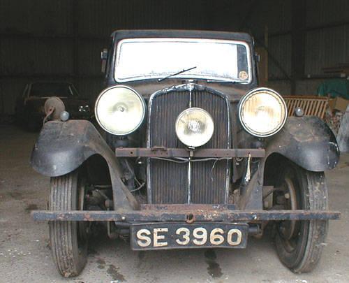 1934 Triumph Gloria totally original barn find SOLD (picture 2 of 5)