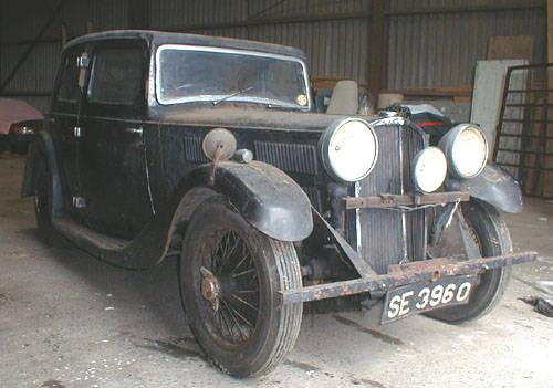 1934 Triumph Gloria totally original barn find SOLD (picture 5 of 5)