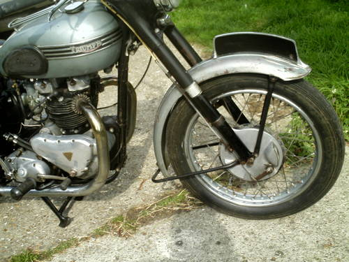 1954 TRIUMPH T110 SOLD (picture 2 of 6)