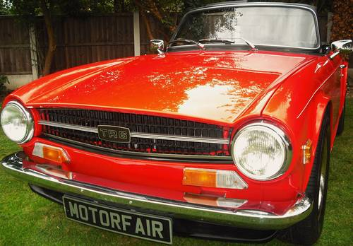 1975 TR6 2.5PI,MATCHING NUMBER HOME MARKET VEHICLE,OVERDRIVE, For Sale (picture 1 of 6)