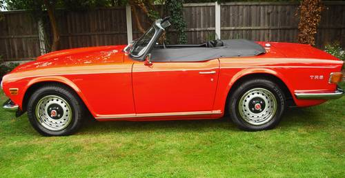 1975 TR6 2.5PI,MATCHING NUMBER HOME MARKET VEHICLE,OVERDRIVE, For Sale (picture 2 of 6)